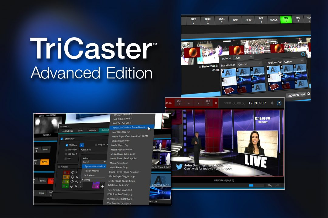 NewTek_TriCaster-Advanced-Edition_montage